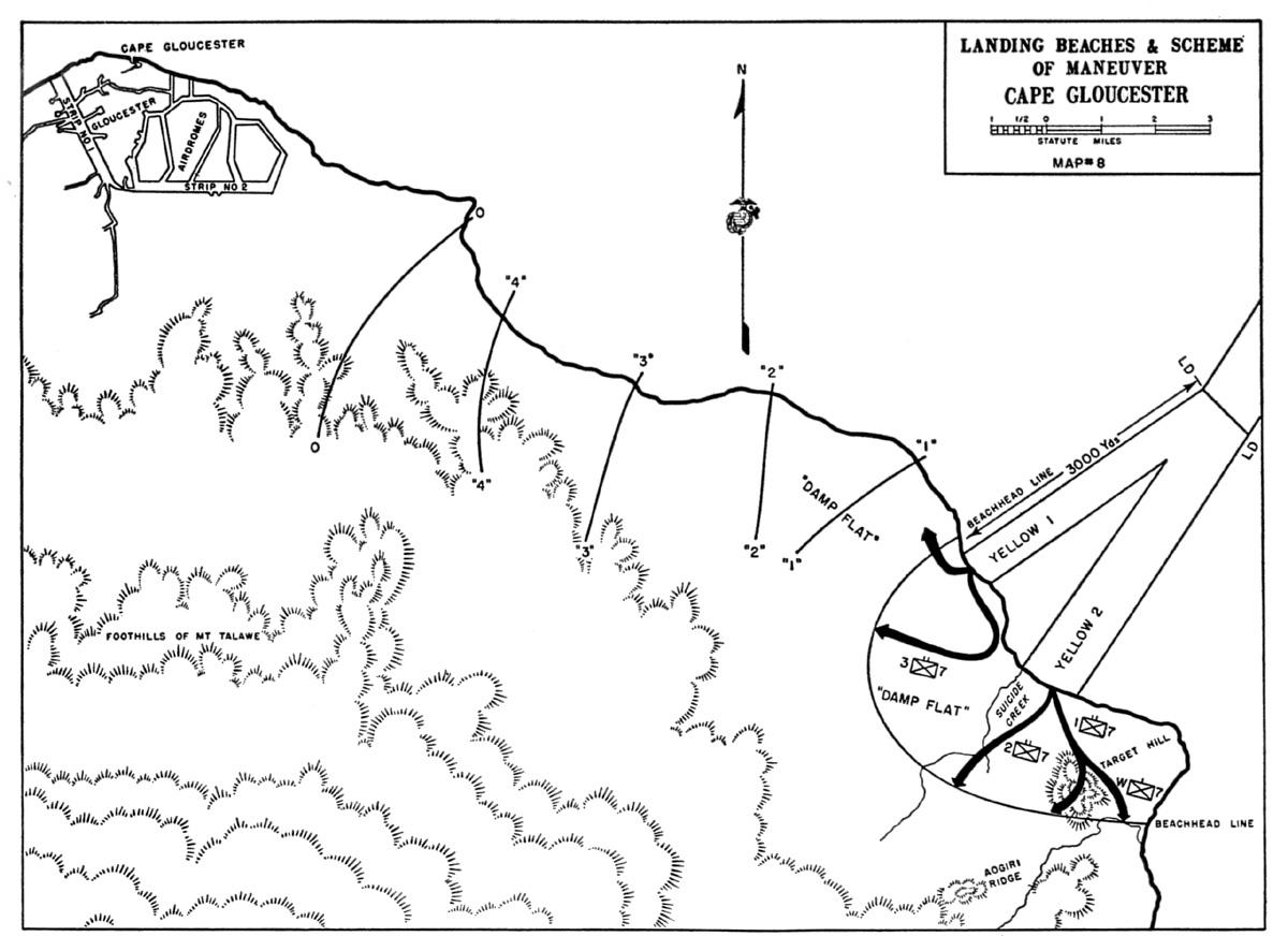 HyperWar: USMC Monograph--The Campaign on New Britain