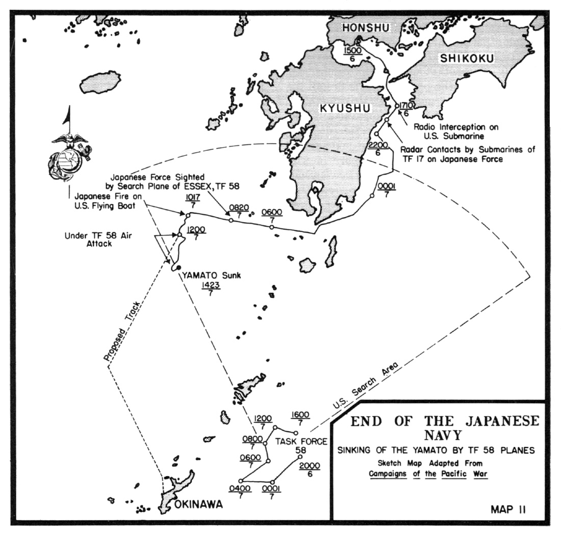 Hyperwar Usmc Monograph Okinawa Victory In The Pacific