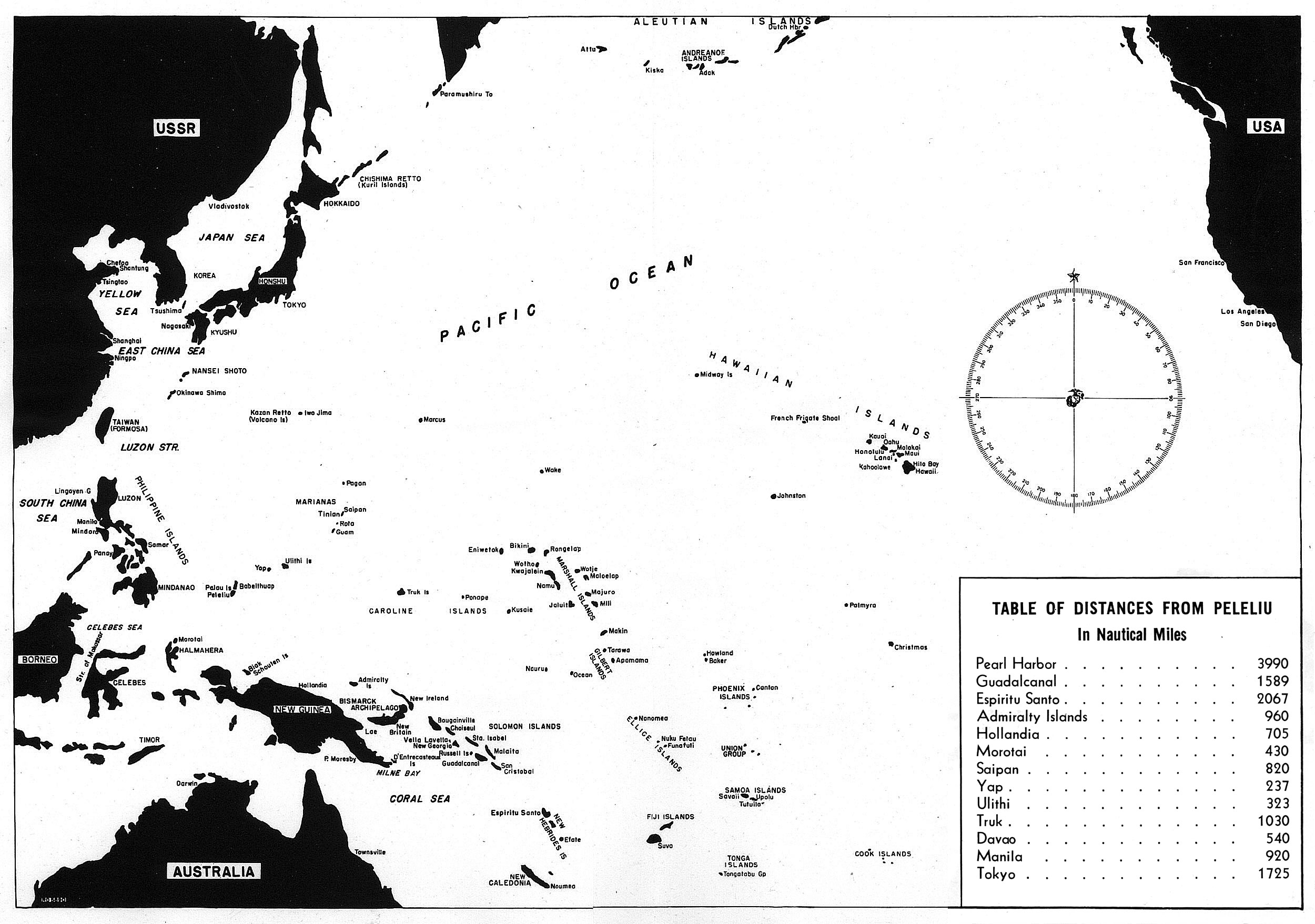 Hyperwar Usmc Monograph The Assault On Peleliu