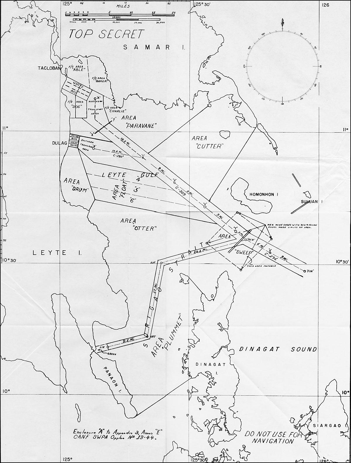 HyperWar: Invasion of Leyte--Op Plan, TF 77 (Annex E)