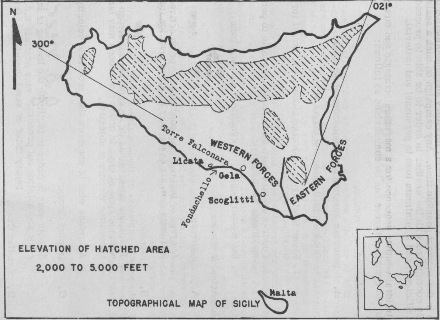HyperWar: Invasion of Sicily (Aerology and Amphibious Warfare)