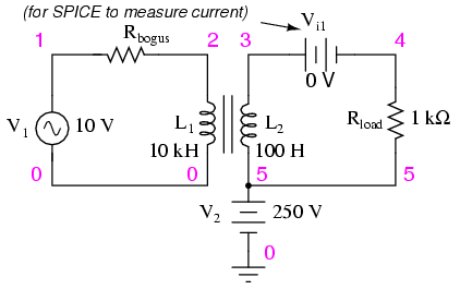 Electrical Transformer Symbol Schematic Positive