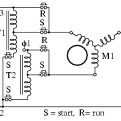 Diagram Motor Control Wiring Sunl Electric Scooter Lessons In Circuits Volume Ii Ac Chapter 13 Starting And Speed