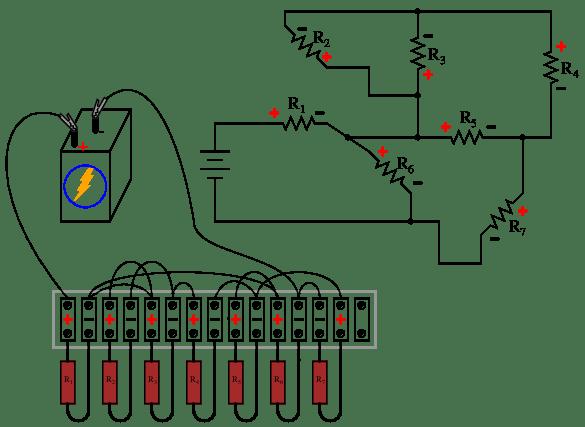 Dc Voltmeter Wiring Diagram Series, Dc, Free Engine Image