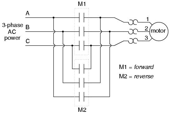 reversing contactor wiring diagram. wiring. free wiring diagrams, Wiring diagram