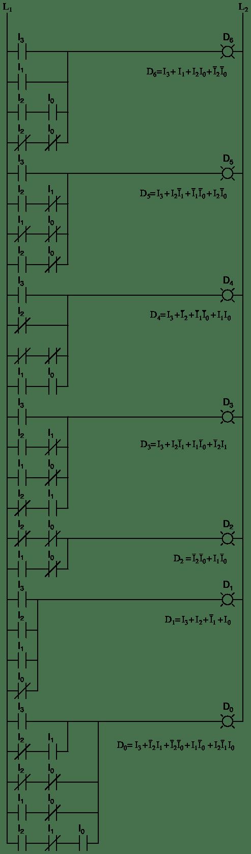 hight resolution of 4 to 16 decoder logic diagram