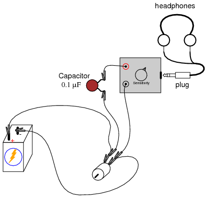 Capacitor In Series With Dc Motor