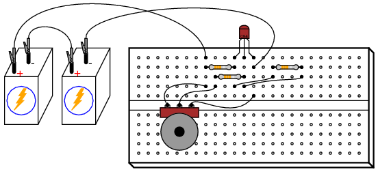How To Connect A Variable Resistor To A Motor