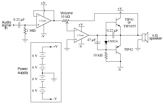 1000w Amplifier Circuit Using Transistor Lessons In Electric Circuits Volume Vi Experiments