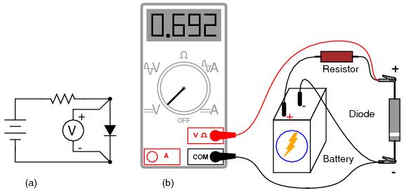 Com Voltmeter Circuit Measuring And Test Circuit Circuit Diagram