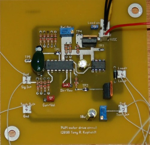 small resolution of pulse width modulation pwm printed circuit board