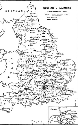 Medieval English Nunneries, by Eileen Power—A Project