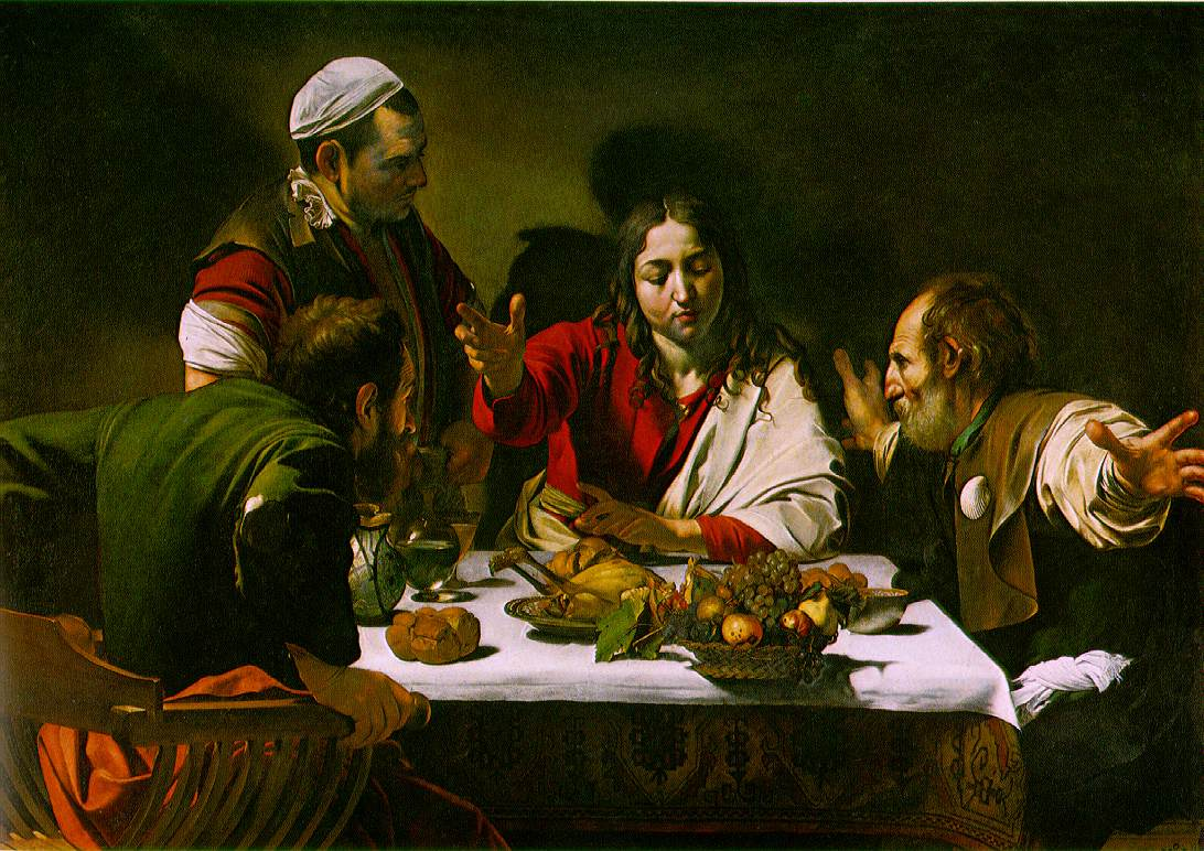 """The Supper at Emmaus"" by Carravaggio"