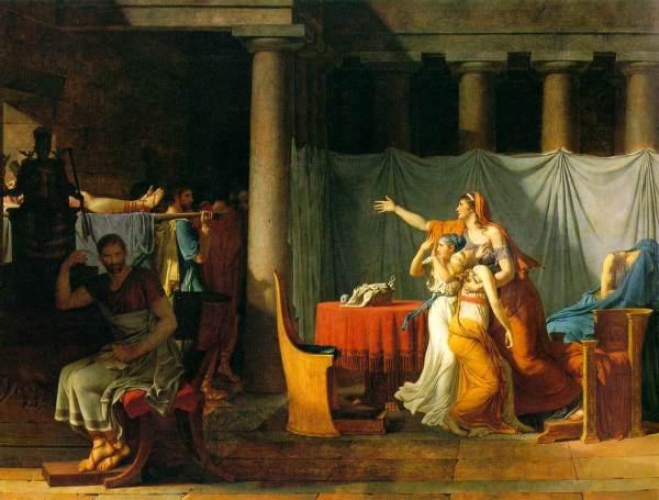 Jacques-Louis David Brutus