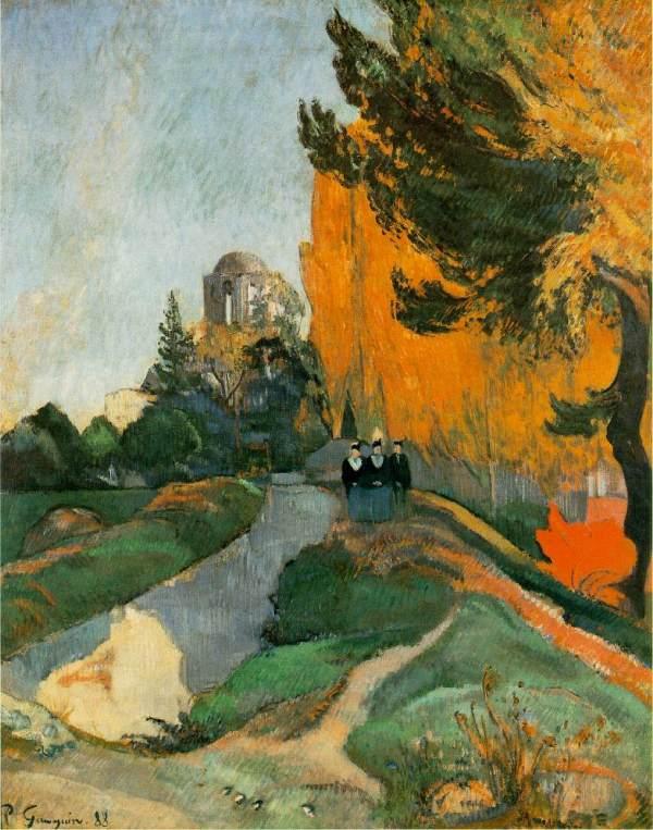 Paul Gauguin Les Alyscamps