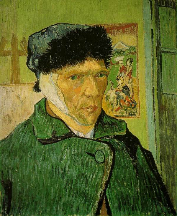 Vincent Van Gogh Ear Portrait