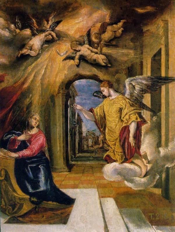 El Greco Annunciation