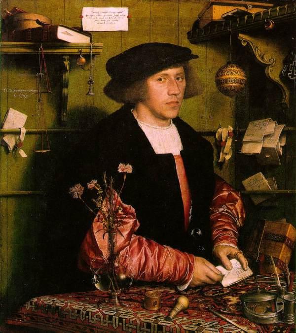 Hans Holbein the Merchant
