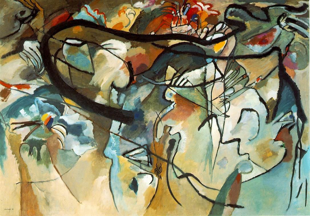 Composition V, 1911 by Wassily Kandinsky
