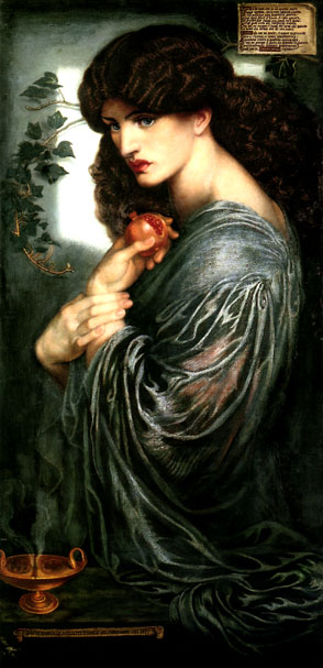 Rossetti's Prosperine (Persephone)