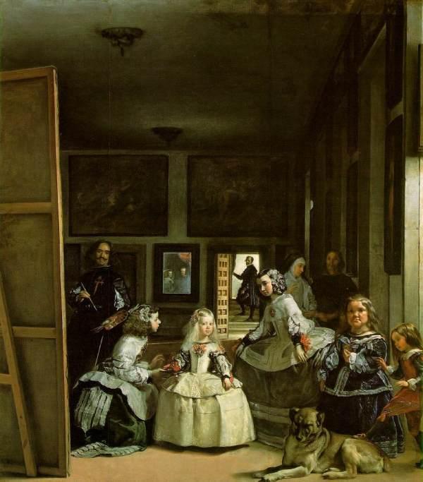 Las Meninas by Diego Velazquez