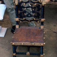 Stool Chair Ghana Navy Blue Rocking Pad Obuasi Dunkwa Praso Goldfields Of The Chief New Edubiase