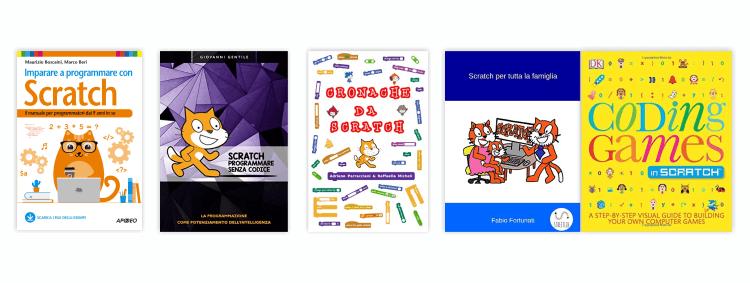 Alcuni libri per imparare Scratch