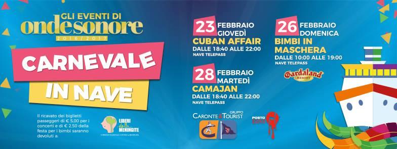 FESTA DI CARNEVALE SULLA M/N TELEPASS CARONTE&TOURIST