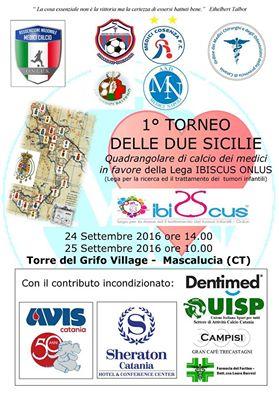 INVITO AL 1^ TORNEO DELLE DUE SICILIE