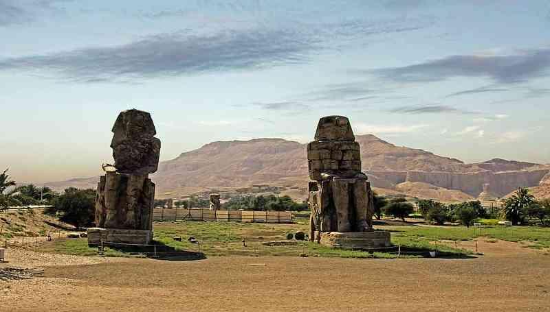 Colossi of Memnon Luxor