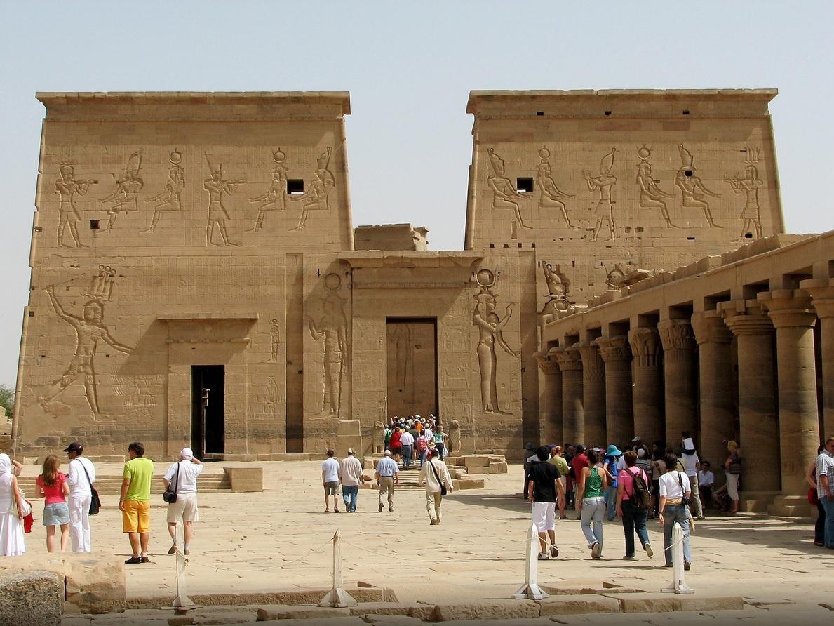 Philae temple in aswan 9