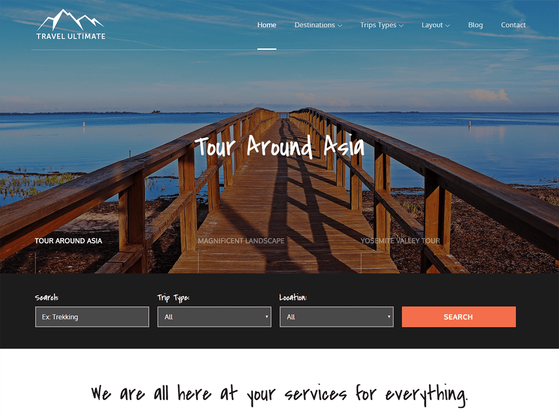 Travel Ultimate - highly responsive WordPress theme 6