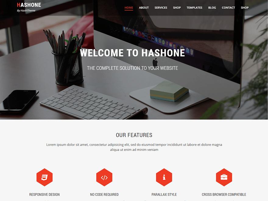 HashOne - WordPress Theme By HashThemes