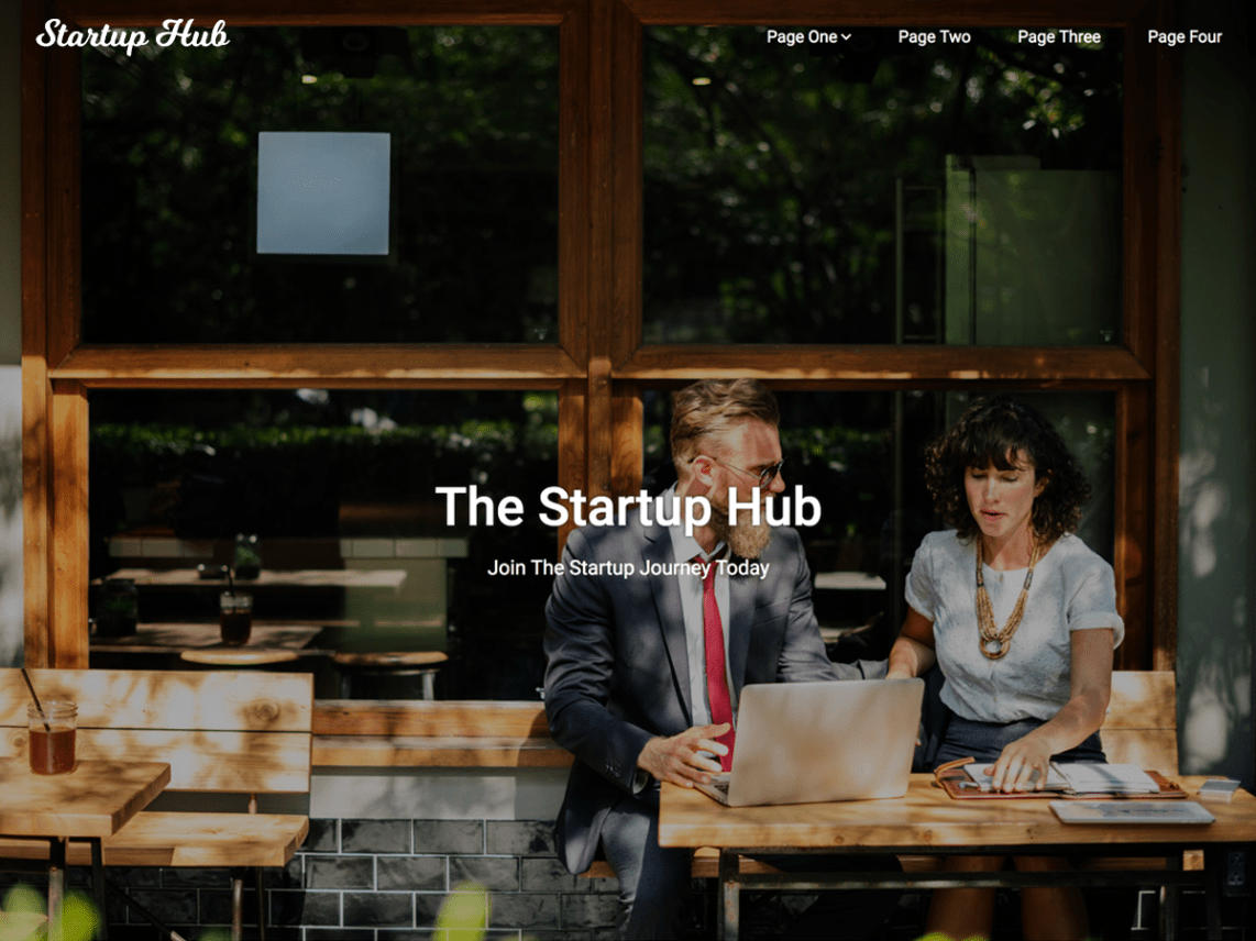 Startup Hub - WordPress Business Theme