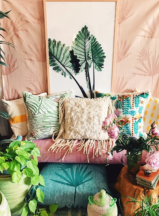 Bohemian bedroom inspiration for you to try this summer