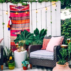 Outside Patio Chairs Childrens Table And Set How To Create Your Own Perfect Boho Outdoor Styled In 6 Easy Ways.