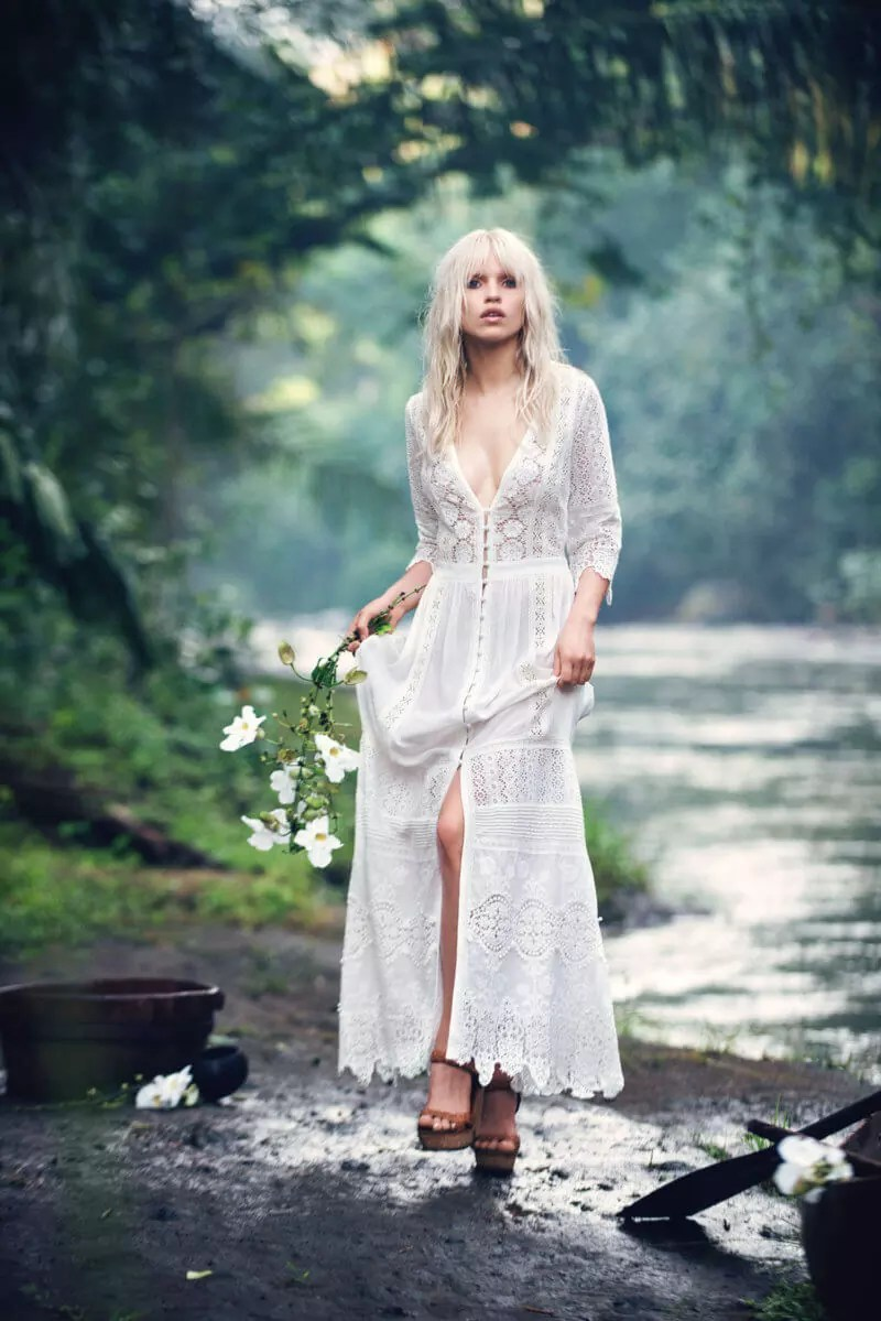 Stunning romantic bohemian wedding dresses you will fall in love with