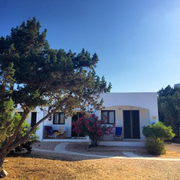 Exterior Hostal Aigua Clara Formentera
