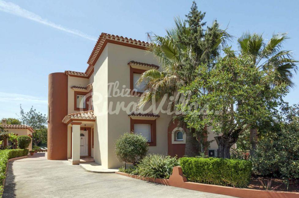 Alquiler Villa RosadaJesus  Ibiza Rural Villas