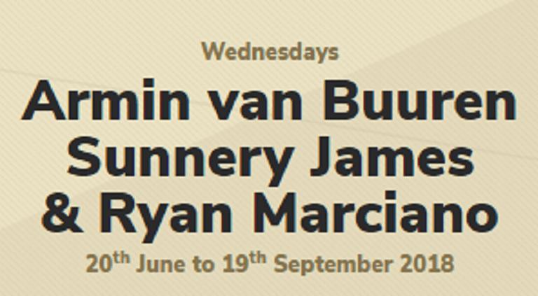 Hï Ibiza 2018: Armin van Buuren + Sunnery James & Ryan Marciano