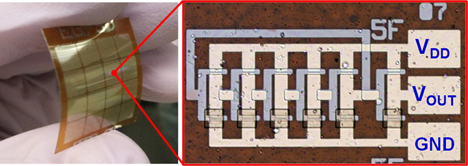 Thinfilm Integrated Circuits On Flexible Plastic Substrates Nature