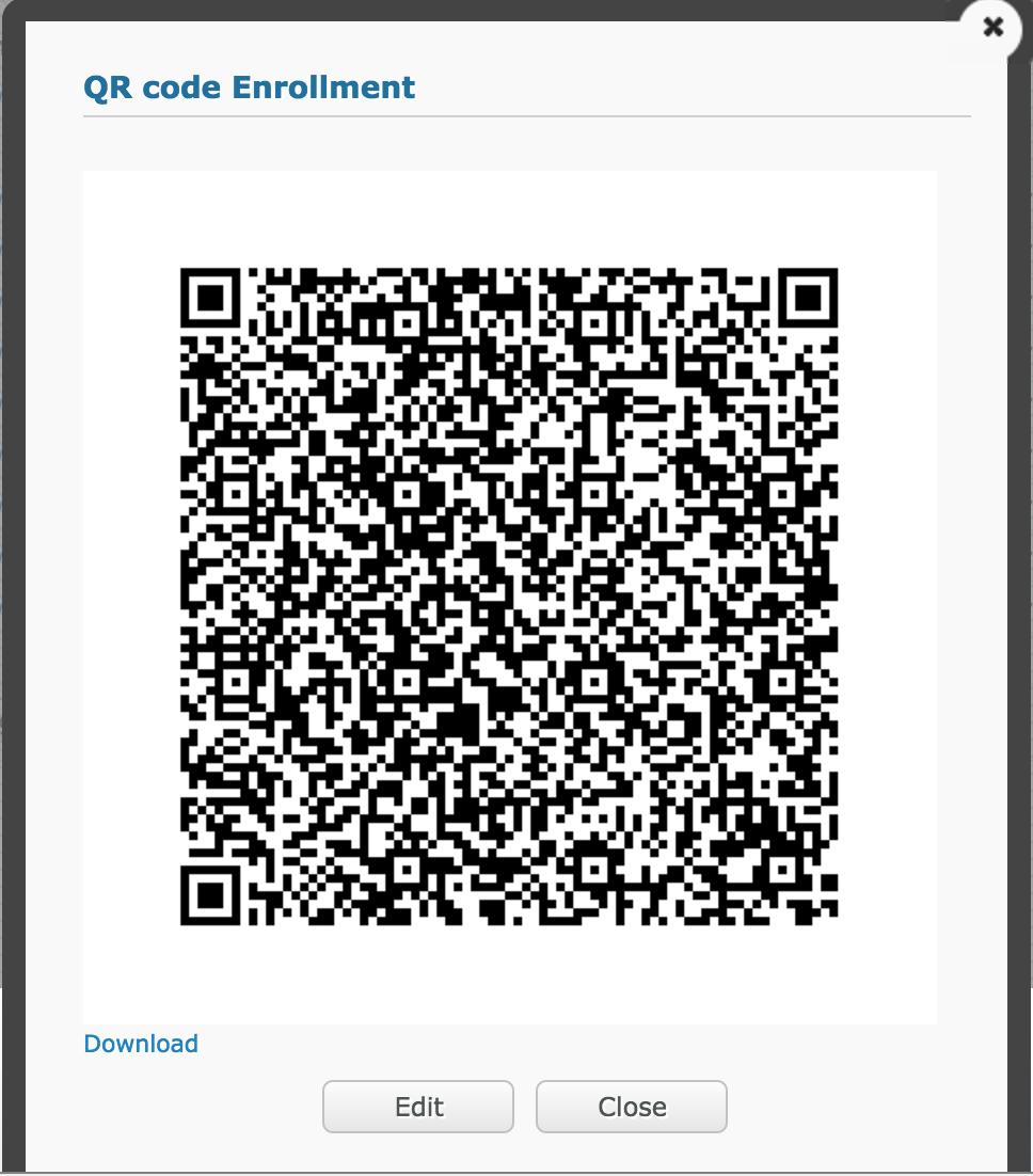 Activación de código QR para el modo Device Owner (DO) de