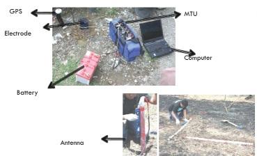 Peralatan CSAMT (Sumber foto: Didik Sugiyanto)