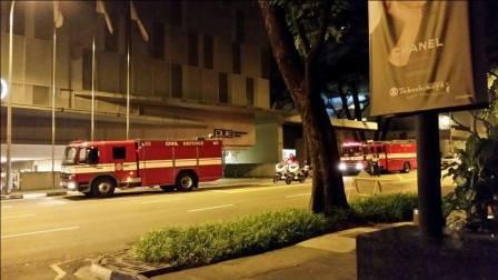 kebakaran hotel singapura