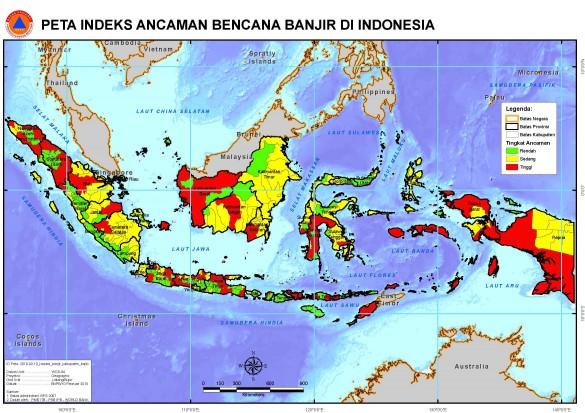 Peta Banjir Indonesia