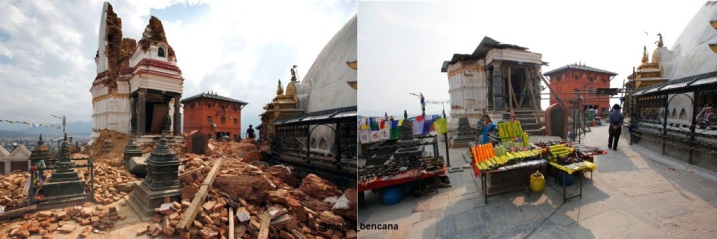Gempa Nepal dan Kuil
