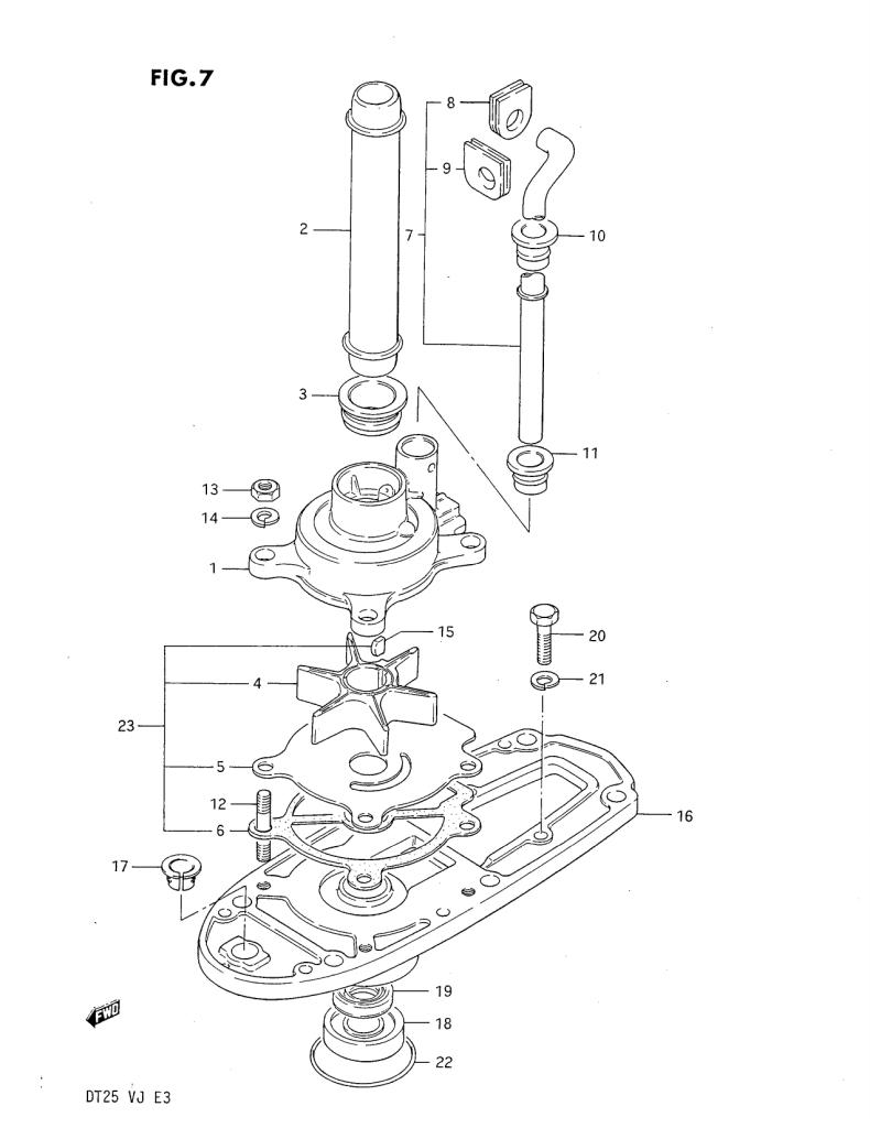 hight resolution of water pump