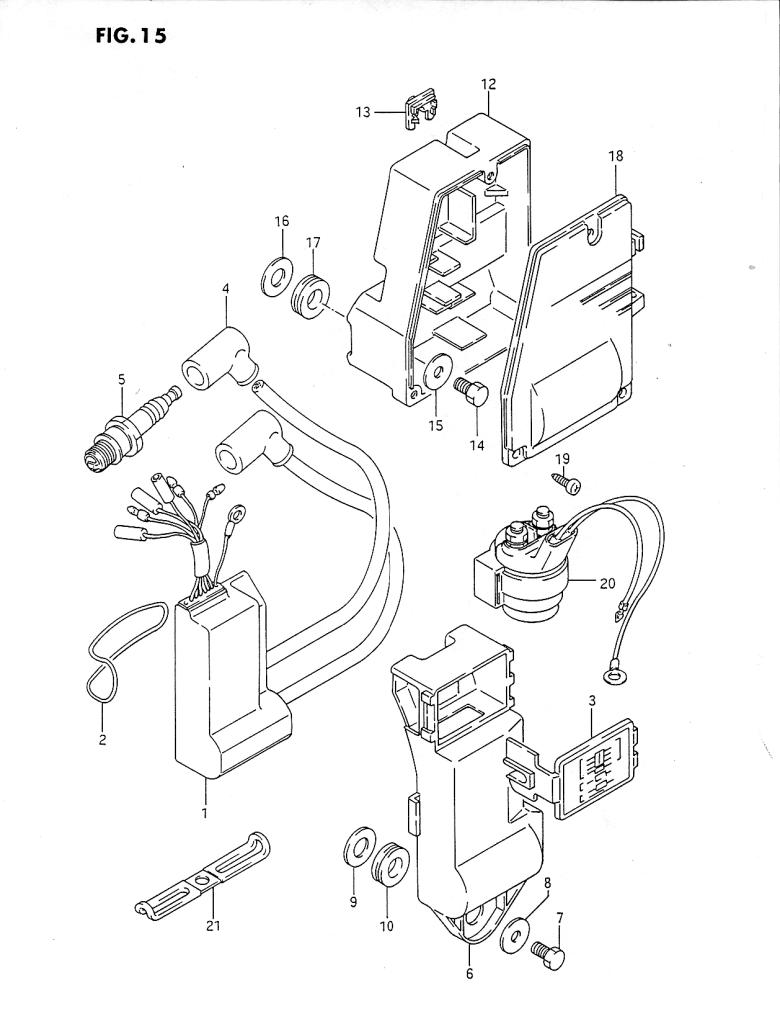 1989 suzuki dt40 k parts