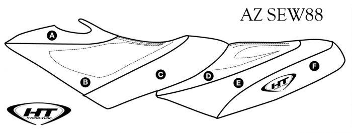Sea-Doo GTX Di (02-03) / GTX 4-Tec (02-06) / RXT (05-09