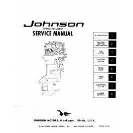 Ken Cook Co. 1972 Johnson Outboard Service Manual M_7212